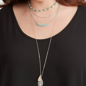 Stella & Dot Frieze Layered Necklace